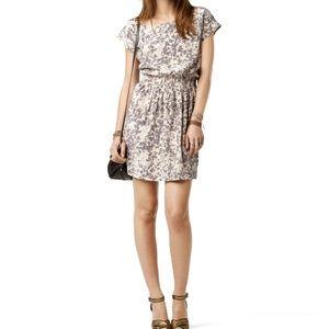 Club Monaco Gray Lainey Silk Dress